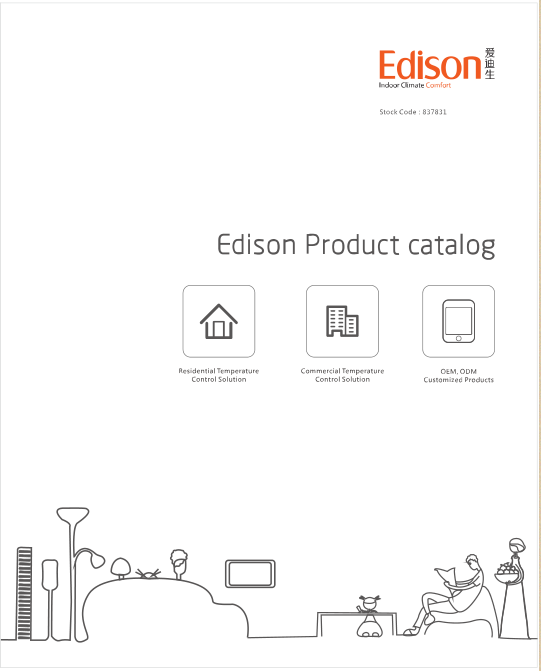 Edison Products Album for Nother America