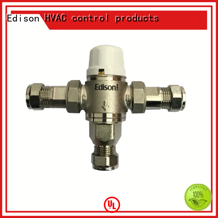 thermostatic shower mixer valve fittings concealed Edison Brand shower temperature control