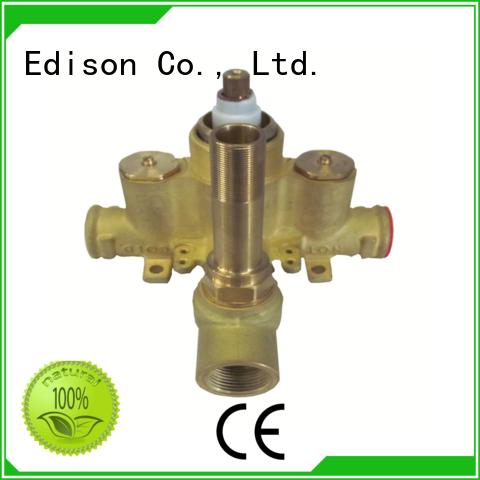 solar compression shower temperature control mini concealed Edison company