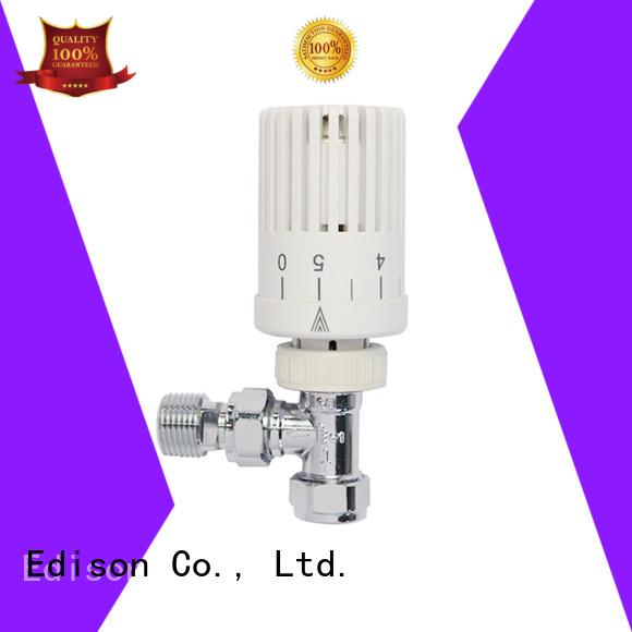 Wholesale angle electronic thermostatic radiator valves Edison Brand