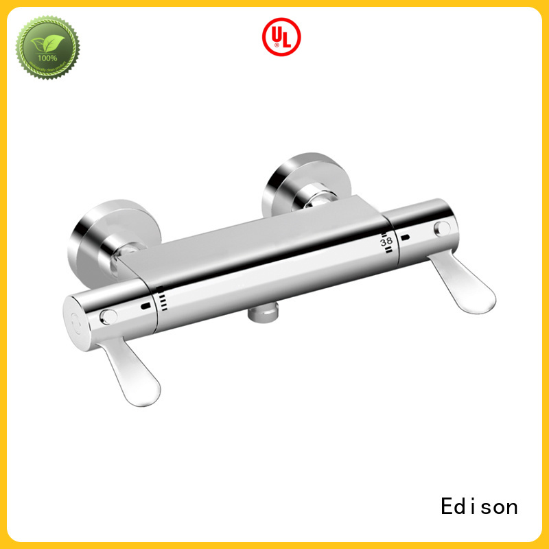 thermostatic bath shower mixer convenient mixing anti-scalding Edison Brand