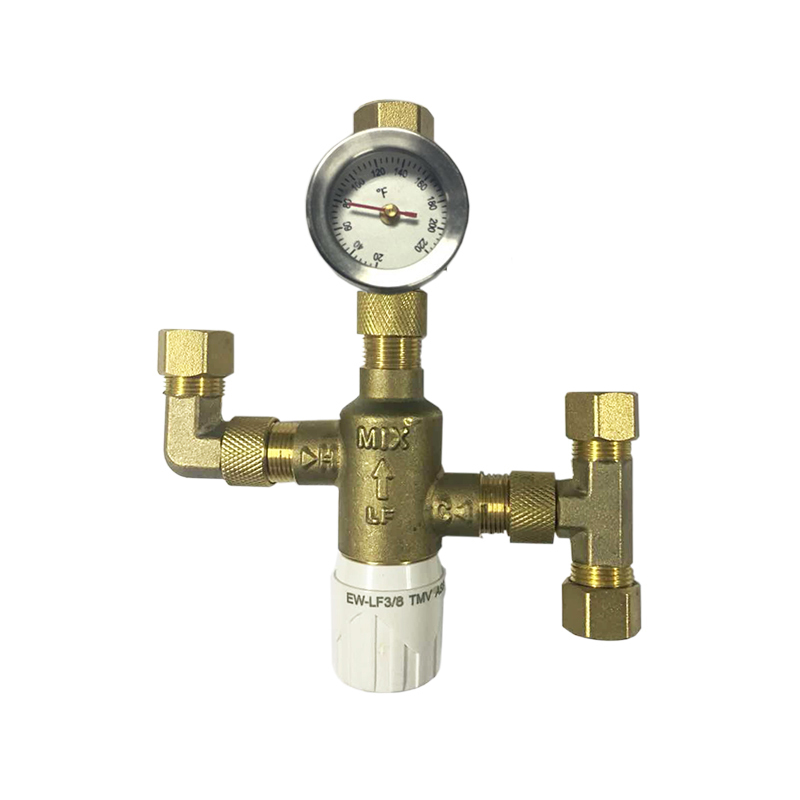 Thermostatic Mixing Valve W39-N1750 3/8 Compression
