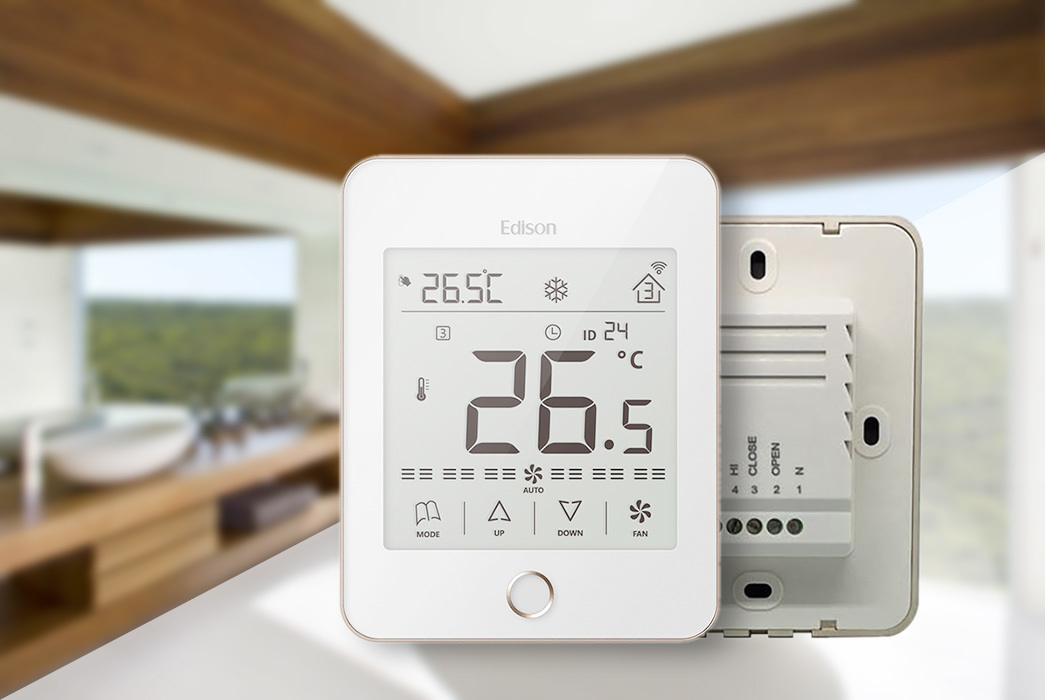 screen room smoothly comfortable Edison Brand wireless thermostat supplier