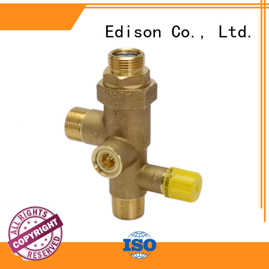 concealed solar shower temperature control fittings Edison Brand company