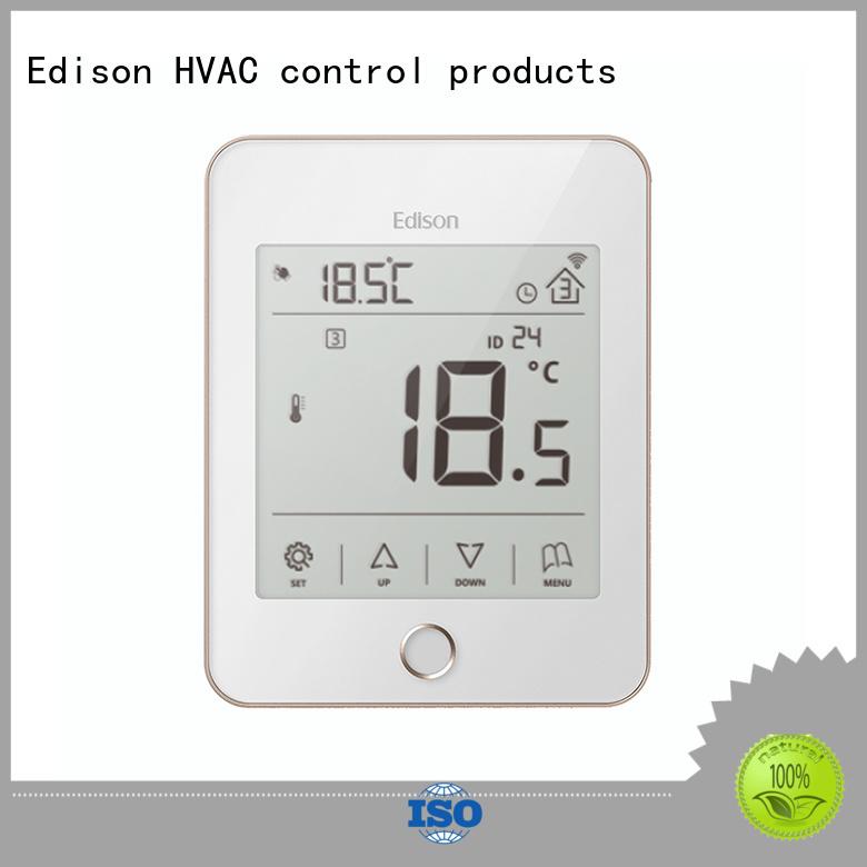 Hot safety wireless heating controls screen Edison Brand