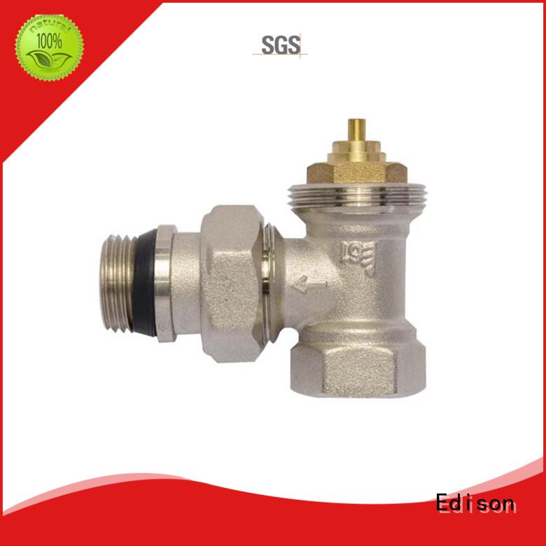 safety pack angle Edison Brand thermostatic radiator valve