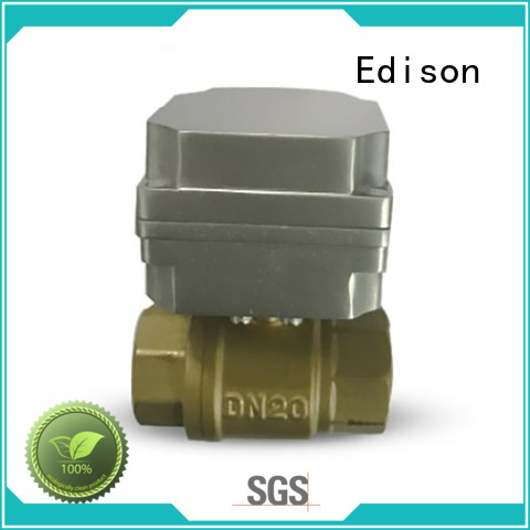 electric ball valve stable anti-aging Brass Edison Brand company