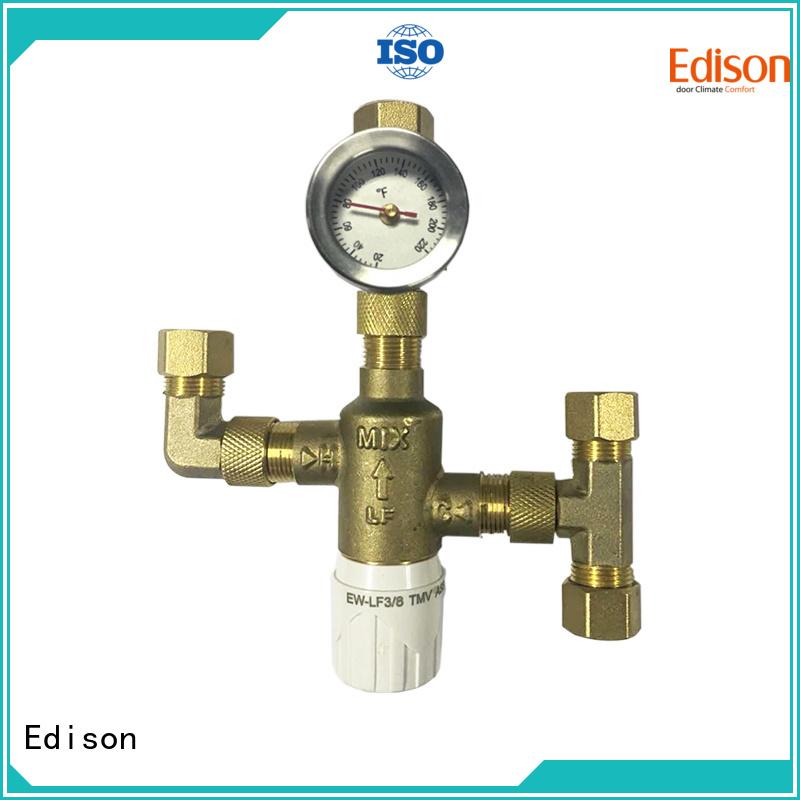 flow ball solar shower temperature control boiler Edison