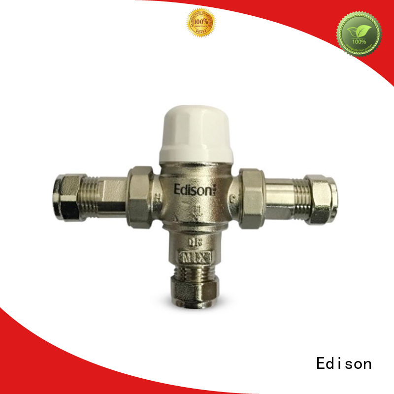 Edison Brand function compression flow custom thermostatic shower mixer valve