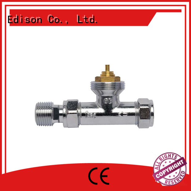 Custom knob thermostatic radiator valve safety Edison