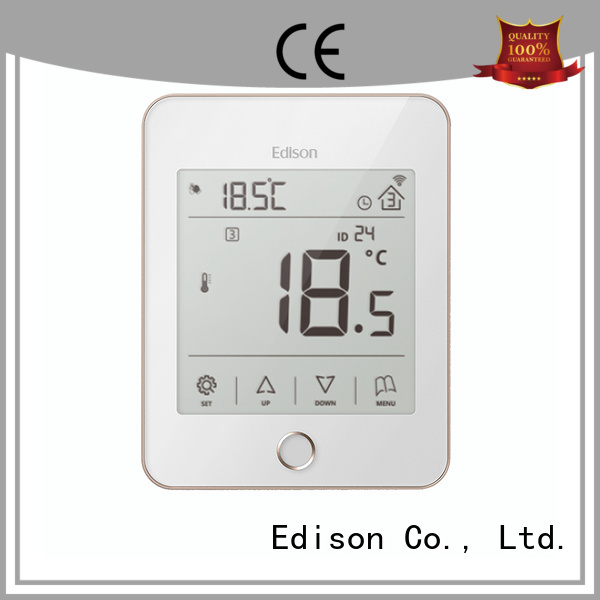 wireless heating controls ac white smoothly Edison Brand company