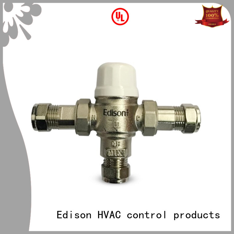 concealed booster tank Edison Brand thermostatic shower mixer valve manufacture