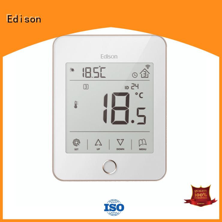 Edison Brand room modbus white heating room thermostat