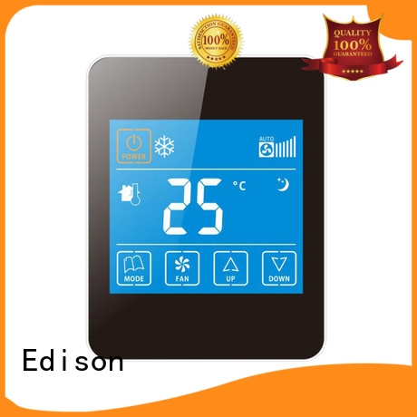 Hot touch digital thermostat smoothly Edison Brand