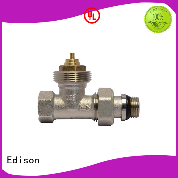 Edison Brand comfortable twin pack custom electronic thermostatic radiator valves